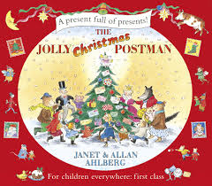 jolly christmas postman
