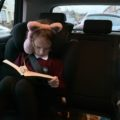she couldnt stop reading on way home