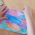 colouring paper to make boat