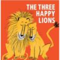 3 happy lions thumb